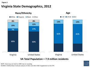 Figure 2: Virginia State Demographics, 2012