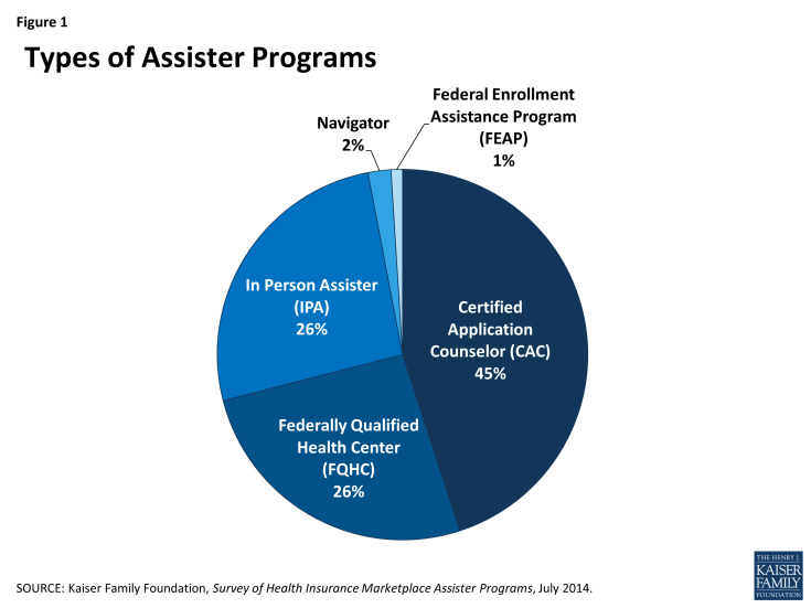 Figure 1: Types of Assister Programs