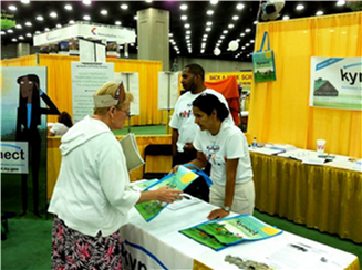 Figure 4: Kynect Informational Booth at the State Fair