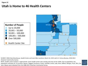 Figure 12: Utah is Home to 46 Health Centers