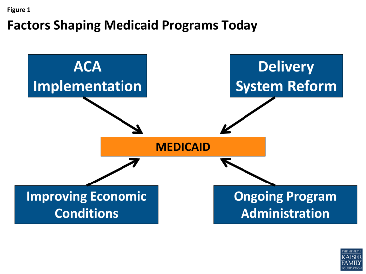 Figure 1: Factors Shaping Medicaid Programs Today