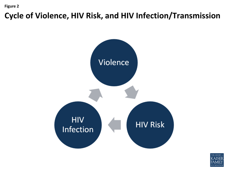 Figure 2: Cycle of Violence, HIV Risk, and HIV Infection/Transmission