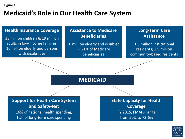 Figure 1: Medicaid's Role in Our Health Care System