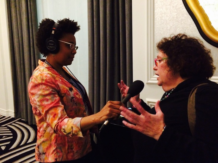 Taunya English, senior health correspondent with Philadelphia's WHYY Radio, interviews Jan Klein of the Allegheny County School Insurance Consortium about employer health benefit issues.