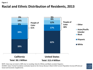 Figure 1: Racial and Ethnic Distribution of Residents, 2013