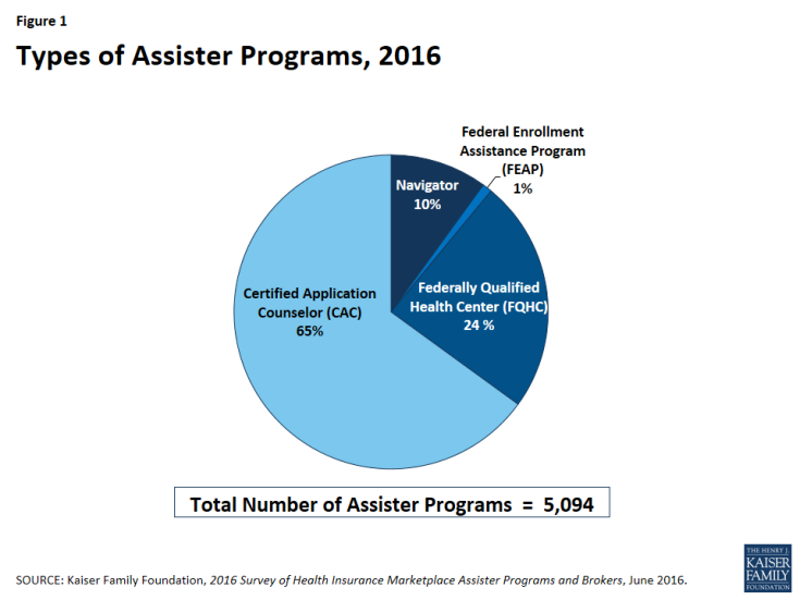 Figure 1: Types of Assister Programs, 2016