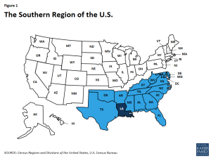 Figure 1 - The Southern Region of the U.S.