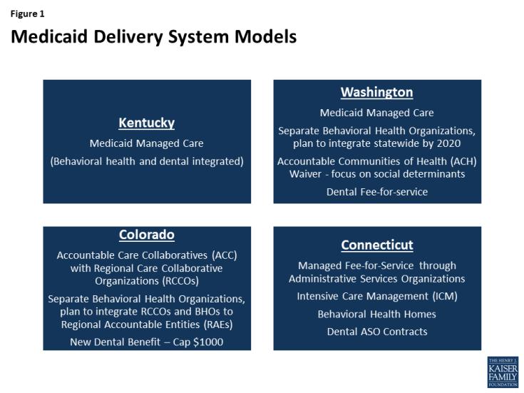 Figure 1: Medicaid Delivery System Models