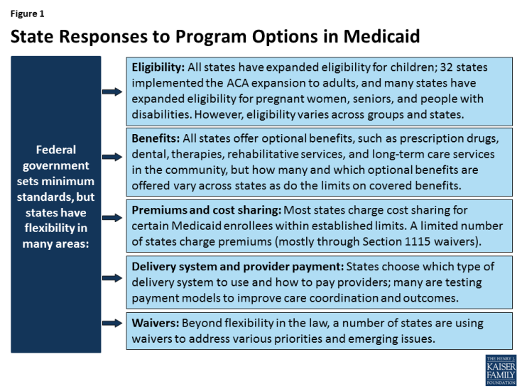 Figure 1: State Responses to Program Options in Medicaid