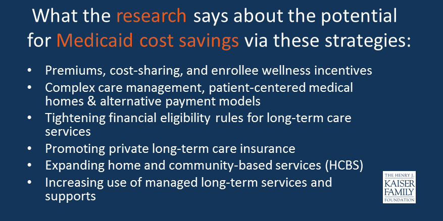 The Edvocates List Of 123 Twitter Feeds >> Strategies To Reduce Medicaid Spending Findings From A