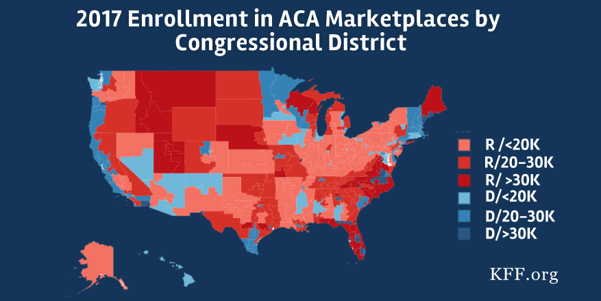Interactive Maps: Estimates of Enrollment in ACA ...