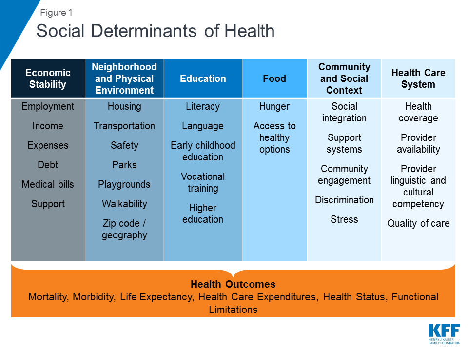 Beyond Health Care: The Role of Social Determinants in