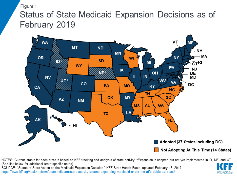 Image result for No partial Medicaid expansions