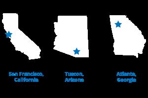 Focus Group Cities: SF, Atlanta, Tuscon