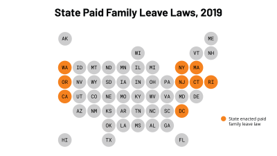 Paid Family Leave Laws, 2019
