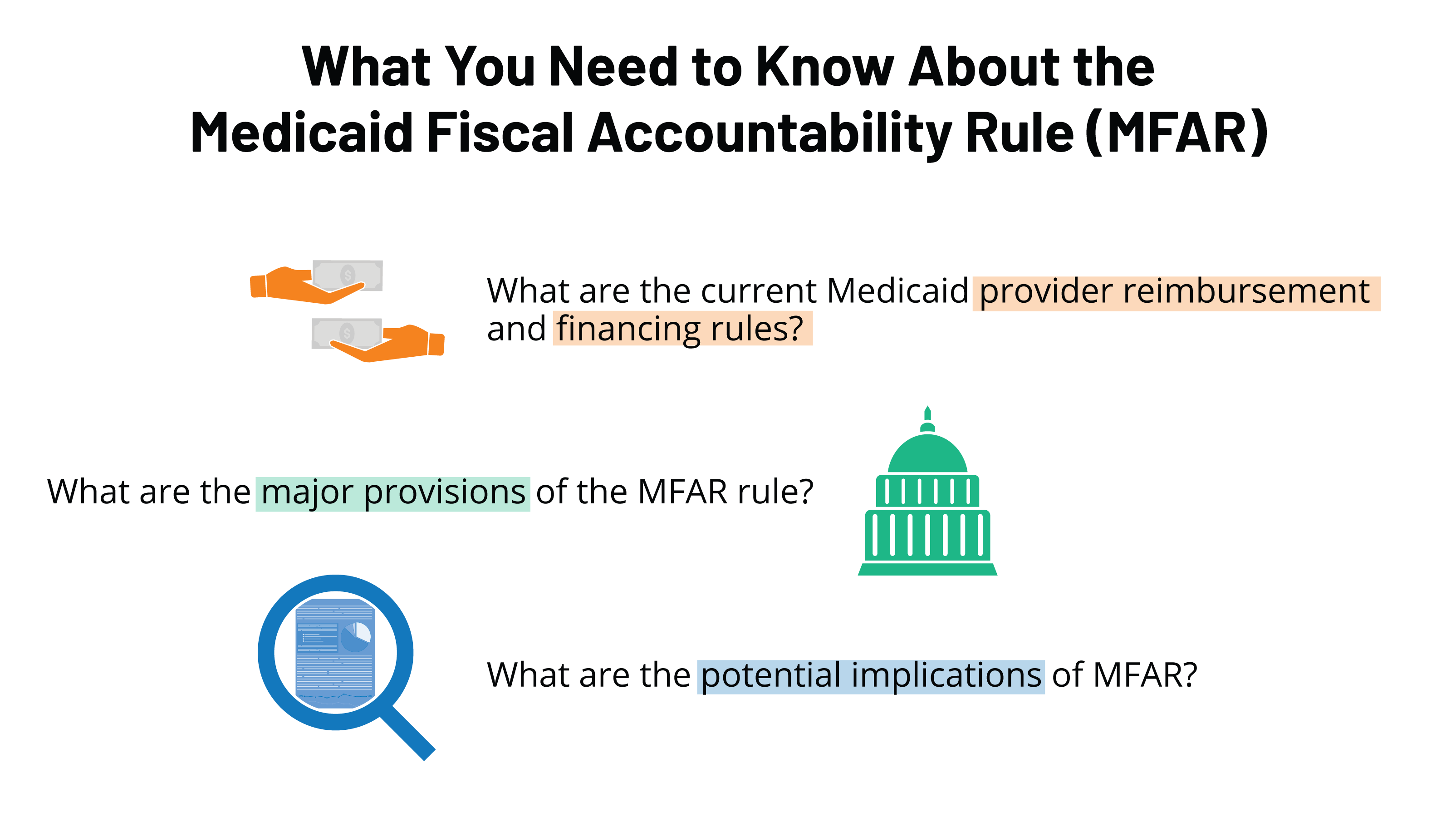 What You Need to Know About the Medicaid Fiscal Accountability Rule (MFAR)  | KFF