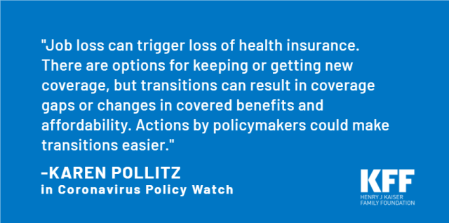 What People And Policymakers Can Do About Losing Coverage During