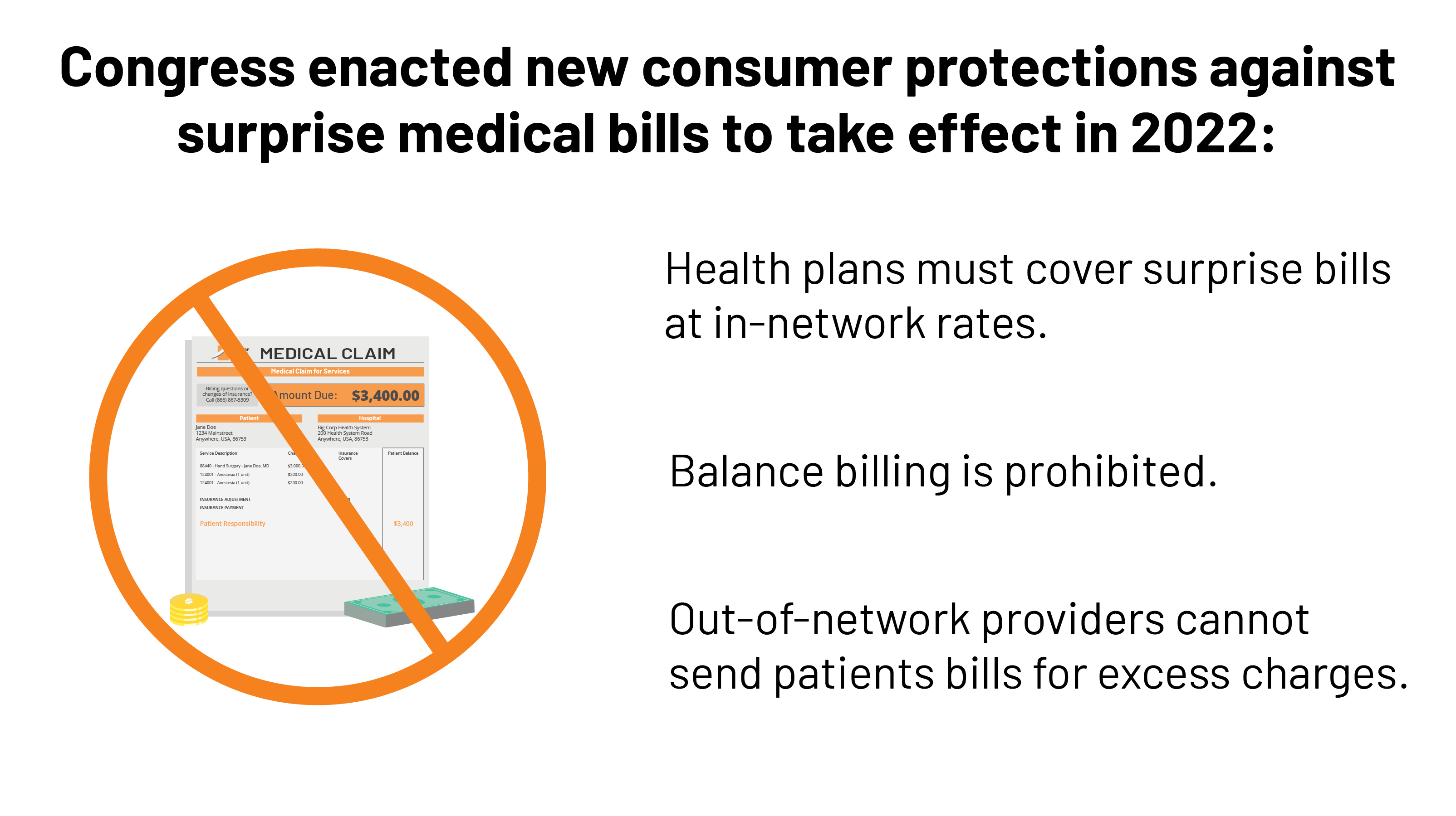 Surprise Medical Bills: New Protections for Consumers Take Effect in 2022 |  KFF