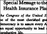 Obama's Health Care Dilemma Evokes Memories Of 1974