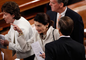 Obama's Speech Leaves Room For Snowe's Compromise To Put Off Public Option
