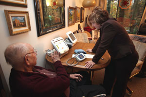 New Technology Helps Elderly Stay Healthy At Home