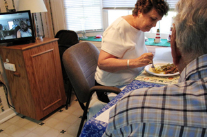 Wired Homes Keep Tabs On Aging Parents