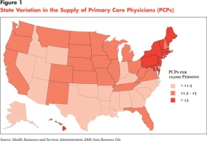 Doctor Shortages Under Health Law May Depend On Geography