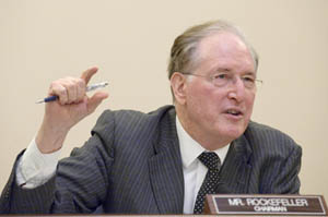 Rockefeller Says He Will Fight 'To The End' Against Medicaid Cuts-The KHN Interview