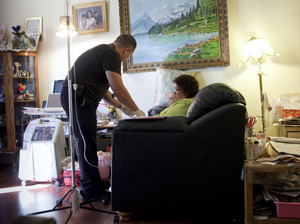 Some Patients Can Choose To Be Hospitalized At Home