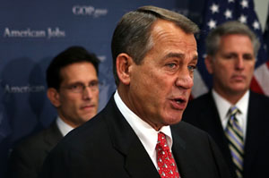 Spending, Taxing Remain Sticking Points As 'Fiscal Cliff' Looms