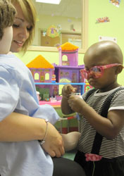 Specialists Work To Reduce Kids' Fears In The Hospital