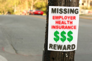 When Employers' Health Plans Disappear, Workers Often Have Few Options