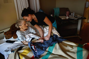 Medicare Lags In Project to Expand Hospice