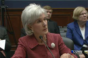 Sebelius Faces Questions About Calls To Outside Groups
