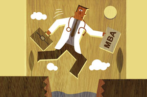 Doctors Interested in MBAs Are Increasingly Looking For Traditional Business Programs, Not Health-Care Specific Degrees