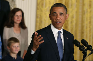 Obama Says Health Law Is Saving Consumers Money