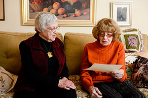 Lend Us Your Ears: Note Takers Help The Elderly At The Doctor