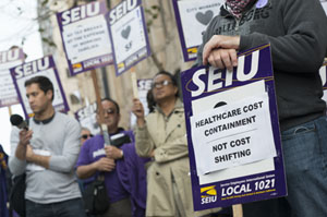 Health Workers' Union Pushes Hospital Cost Control In California